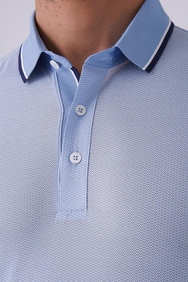 3 Düğmeli Polo Yaka T-Shirt