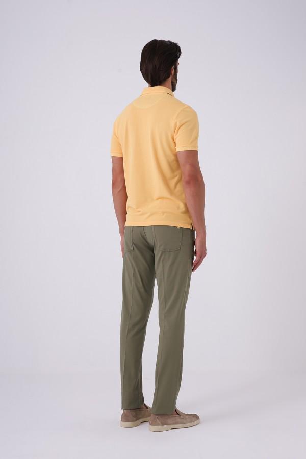 3 Düğmeli Polo Yaka Tshirt
