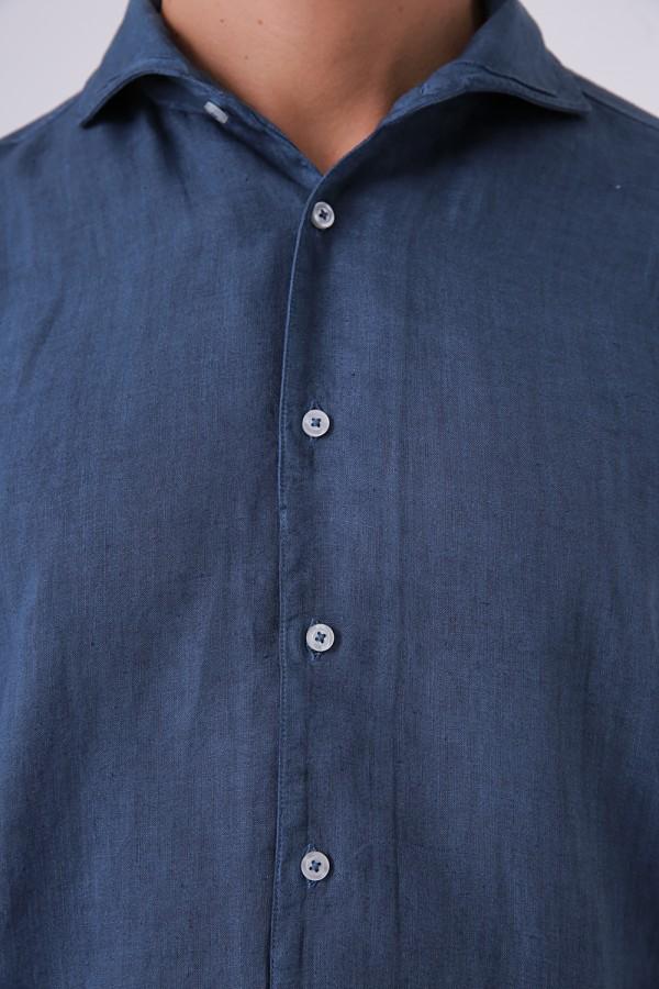 İtalyan Yaka Vintage Gömlek