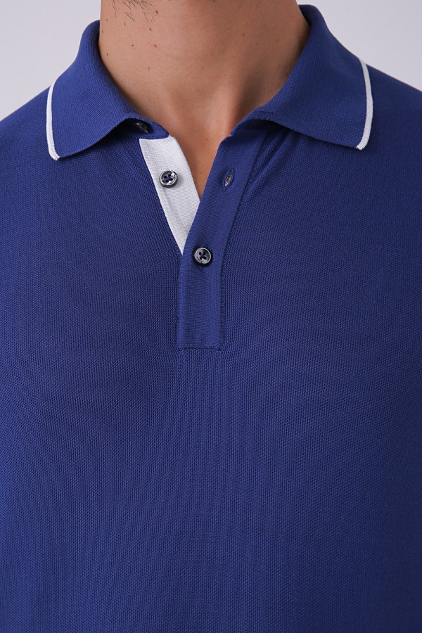 3 Düğme Polo Yaka Tshirt