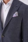 7 Drop Kırlangıç Yaka Iki Düğme Çift Yırtmaç Napolitan Ceket