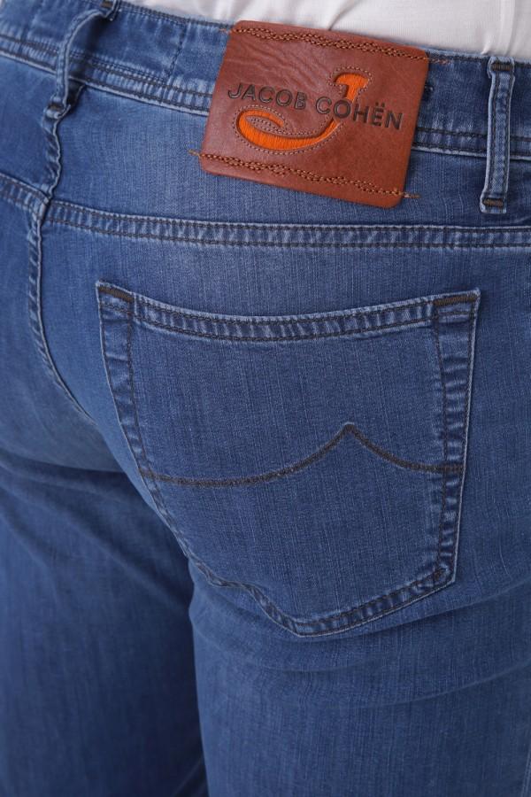 Önü Düğmeli  Beş Cepli 688 Kalıp Denim Pantolon