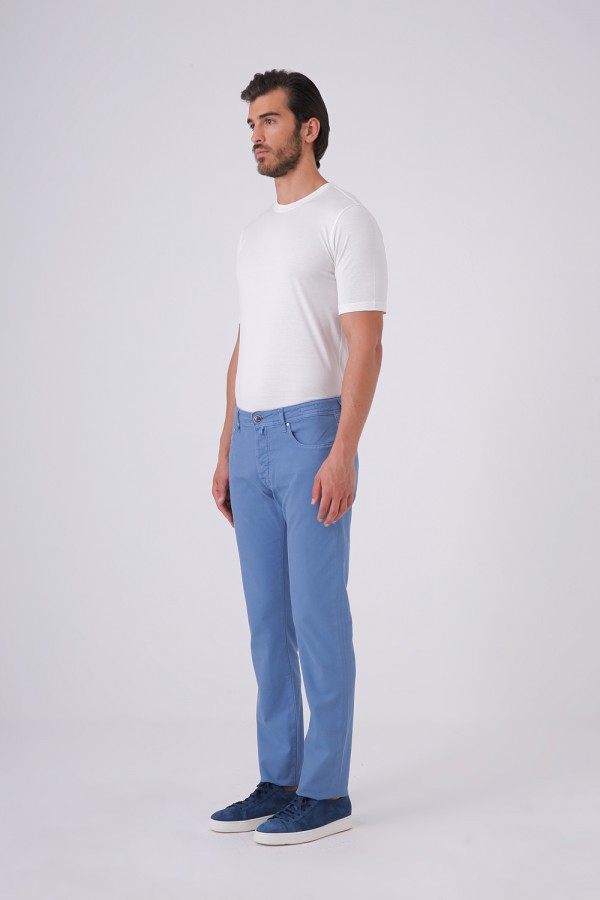 688 Kalıp Jean Kesim Beş Cepli Cotton Pantolon