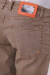 Önü Düğmeli Beş Cepli  Denim Pantolon