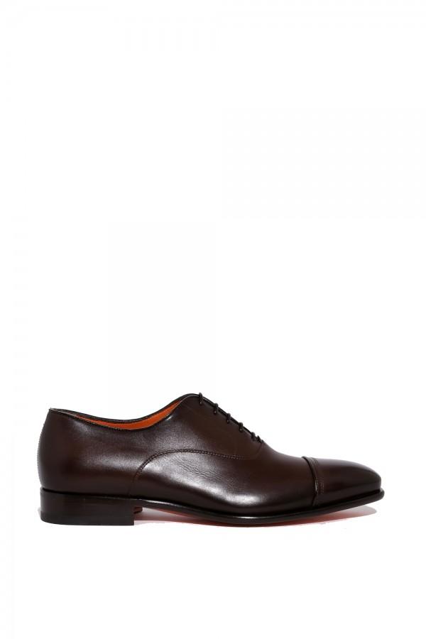 Deri Bağcıklı Klasik Ayakkabı