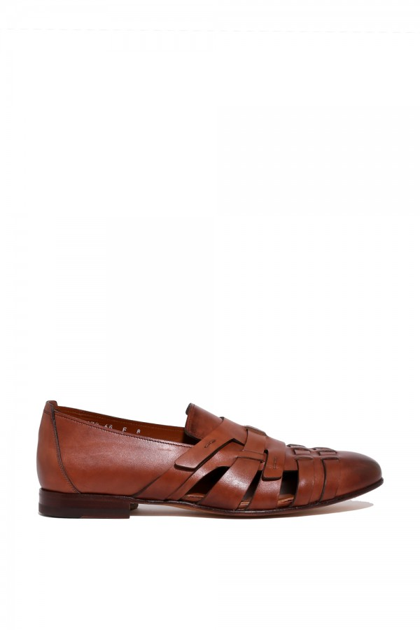 Deri Kahverengi Loafer