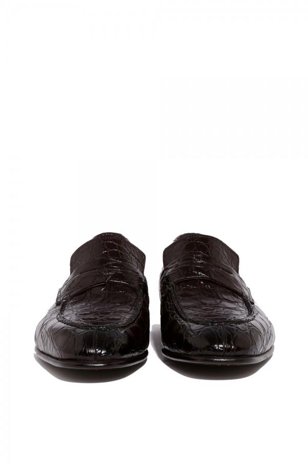 Crocodille Deri Klasik Ayakkabı