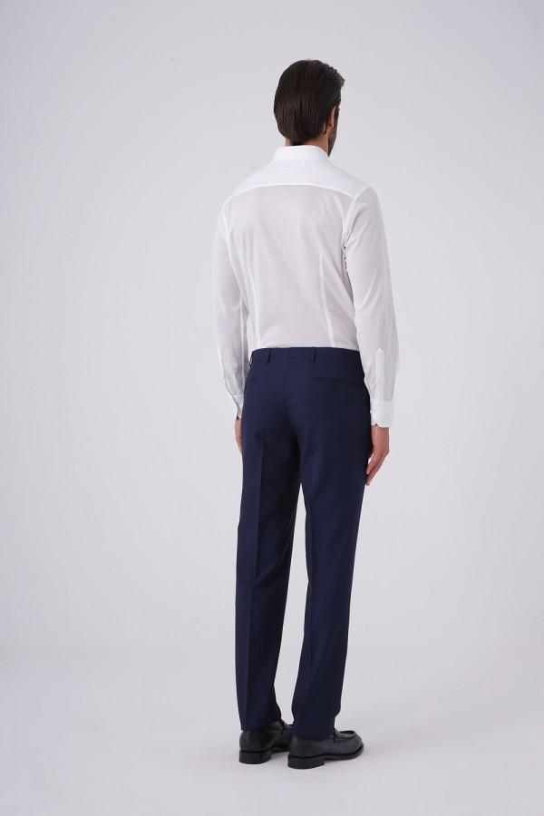 Yandan Cepli Kumaş Pantolon