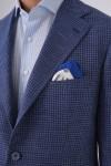 7 Drop Mono Yaka 3 Düğme Çift Yırtmaç Napolitan Ceket
